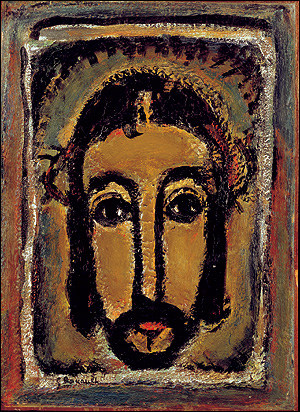 La sainte face - Georges Rouault