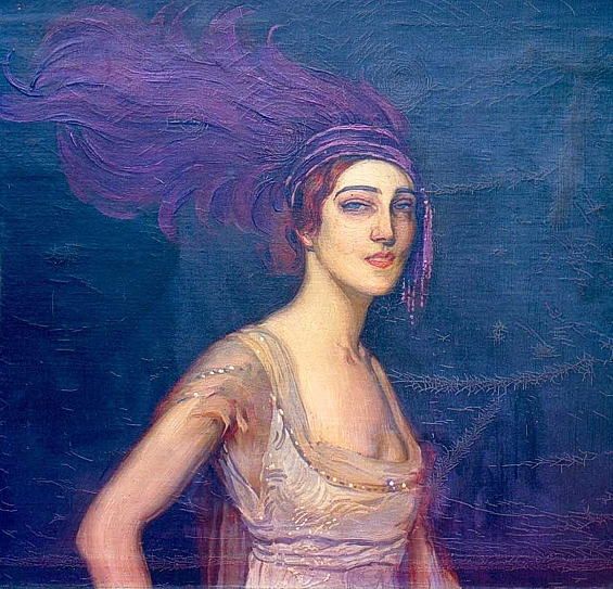 Portrait d'Ida Rubinstein