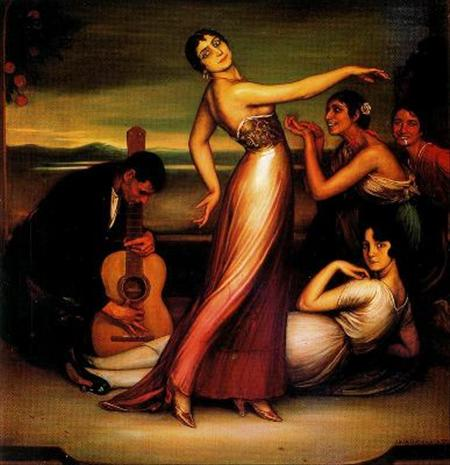 Romero de Torres - Alegrías, 1917
