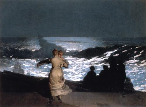 Homer Winslow -  Nuit d'été - Musée d'Orsay