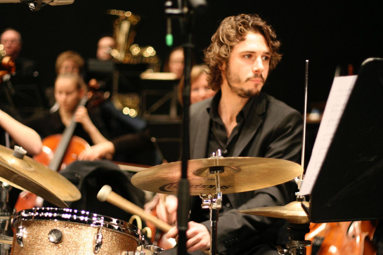 Mathieu Charazenc, batterie