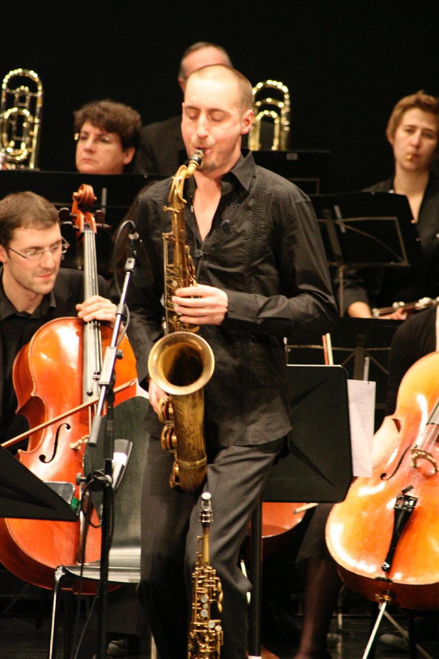 Christophe Panzani, saxophone