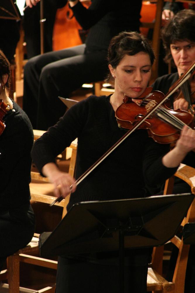 Mathilde Legée, violon