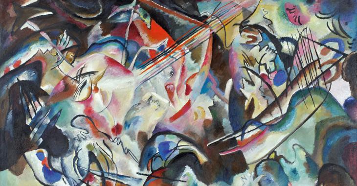 Vassili Kandinsky - Composition IV