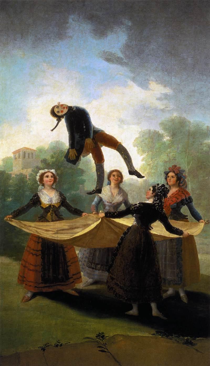 Le Pantin (El pelele) Goya