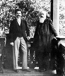 Johann Strauss et Johannes Brahms