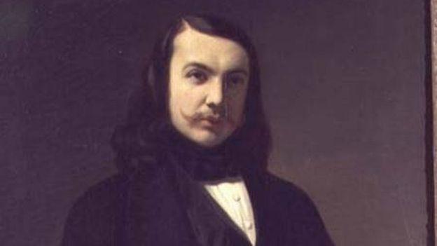 Théophile Gautier par Auguste de Chatillon