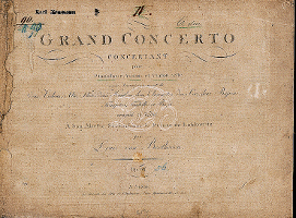 Edition originale du Triple Concerto op. 56