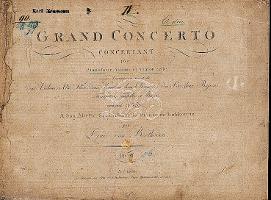 Edition originale du Triple Concerto op. 56