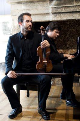 David Violi, piano              Pascal Monlong, violon