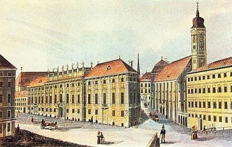 Le palais du prince Lobkowitz � Vienne