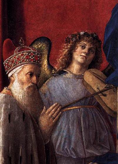 Madone au doge Loredan - Giovanni Bellini