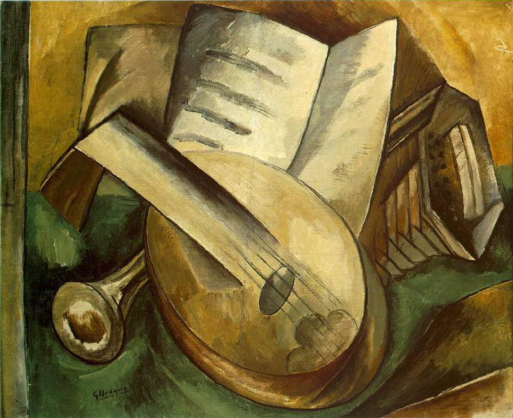 Georges BRAQUE (1882-1963)Instruments de musique (1908)Collection privéeRomilly 7