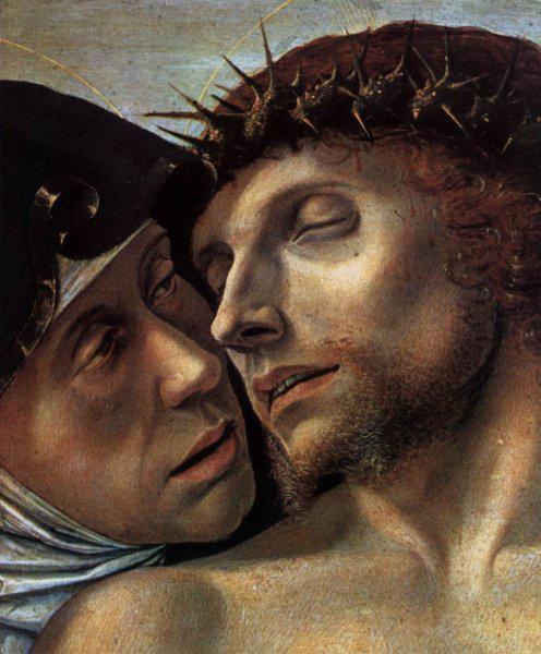 Giovanni Bellini, Pietà, 1460, Pinacoteca di Brera, Milan