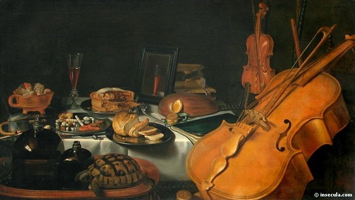 Pieter CLAESZ   (1597-1661)Nature morte aux instruments de musique (1623)Musée du Louvre, Paris