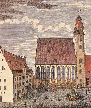 Eglise Saint-Thomas, Leipzig